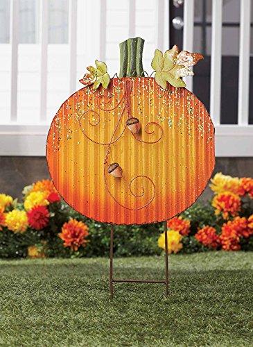 Metal Pumpkin Stake Leisuretimery