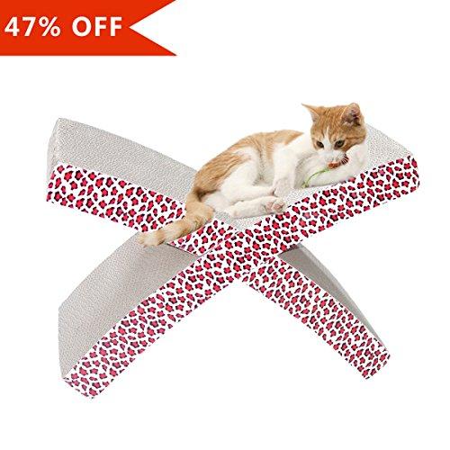 Cat hammock scratcher invironment easy life cat scratch and rest scratching lounge pads bed - Cat hammock scratcher ...