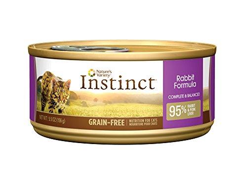 Instinct Cat Food Rabbit Ingredients