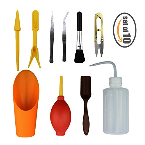 Gardening tools kit set of 10 succulent transplanting care for Hand tools for planting