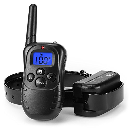 remote pet training collar with lcd display manual