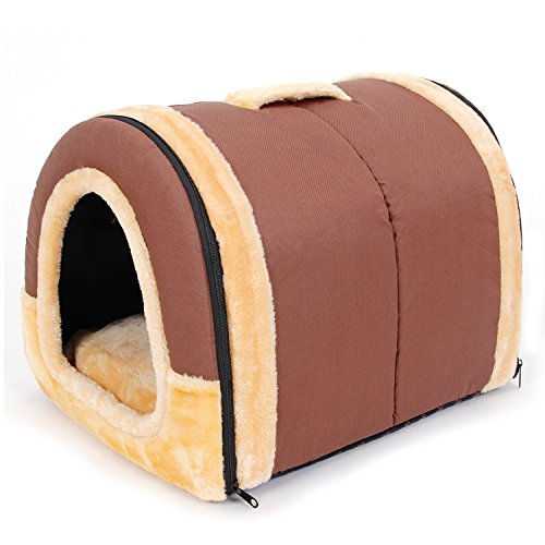 Pawz Road 2 In 1 Pet House And Sofa Non Slip Dog Cat Igloo