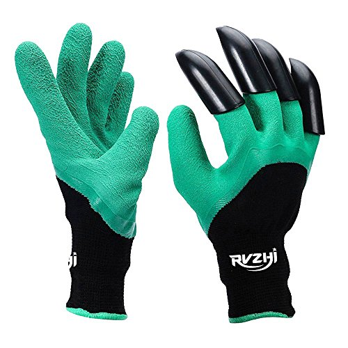 Rvzhi Garden Genie Gloves With Claws Clawed Easy Gardening Gloves For Digging And Planting Hand