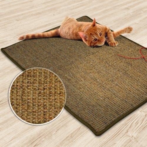 Casa Pura Sisal Cat Mat Cork Tweed 20 X 20 Scratch