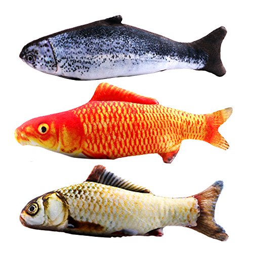 Cat Nip Red Fish Toy