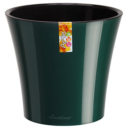 Santino Self Watering Planter Deco 8 8 Inch Jade Flower