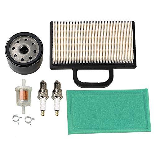 Air Pre Filter Fuel Oil Filter Spark Plug Tune-Up Kit For Kohler