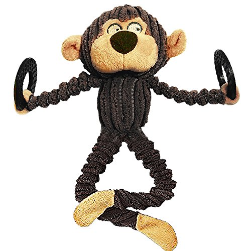 No Stuffing Squeaky Plush Dog Toys Durable For Small