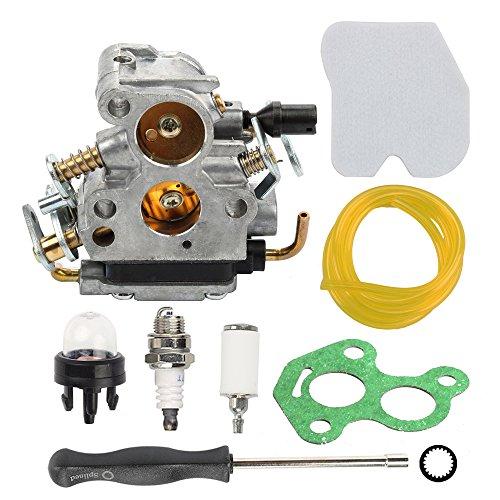 Hilom Carburetor With Air Filter Fuel Line Filter For