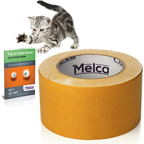 Melca Cat Scratch Deterrent Sticky Tape 10 Yd 2 5 Inch