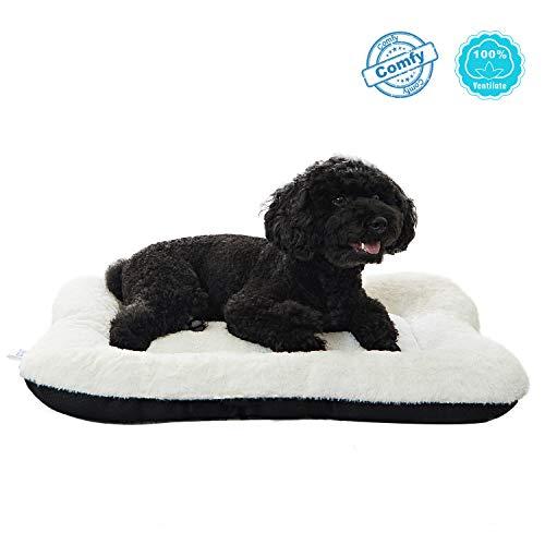 Anwa Dog Bed Pet Cushion Crate Mat Soft Pad Washable And