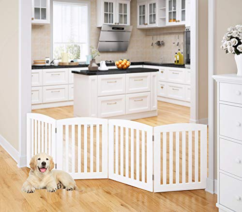 Hoovy Freestanding Wooden Pet Gate Folding Amp Extending