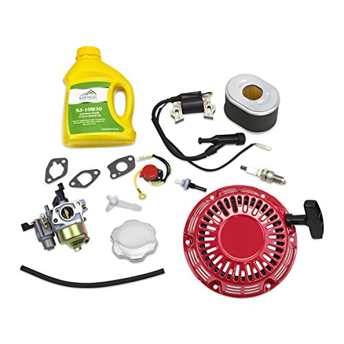 HIFROM Carburetor Carb Kit With Air Filter Ignition Coil Recoil