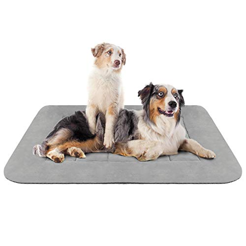 Hero Dog Large Dog Bed Crate Pad Mat 47 Inch Washable