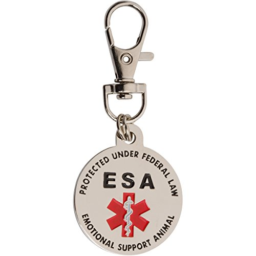 Doggie Stylz Service Dog Cat Official Id Tag Hang From A