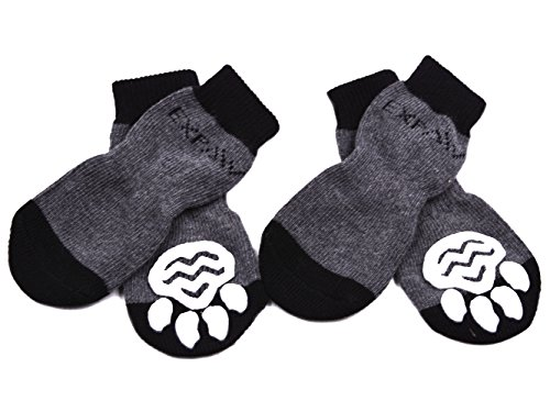 Kooltail Dog Socks Anti Slip With Straps Traction Control